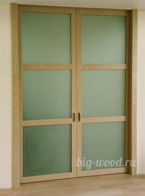 Двери из массива ясеня - 1 предложение в Новосибирске